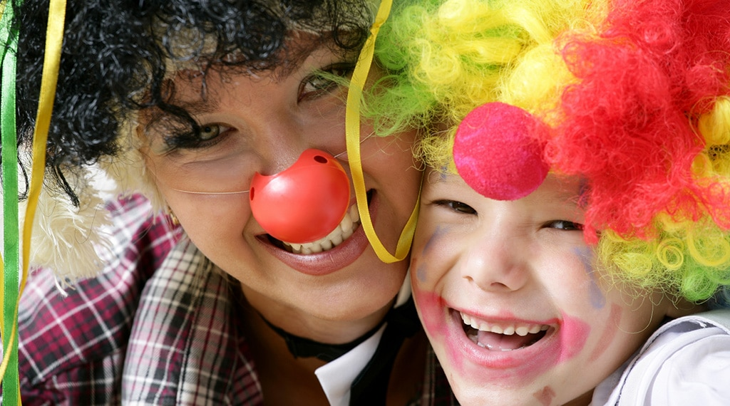 Children's entertainment at Hendra Holiday Park, Newquay Cornwall