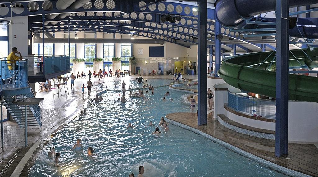Caravan Site Swimming Pool Newquay Cornwall Hendra Holiday Park