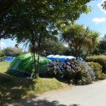 Camping at Hendra