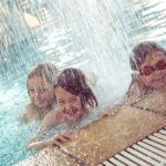 Splashing fun at the pool