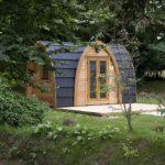 Camping pods at Hendra - Simon Burt Photography
