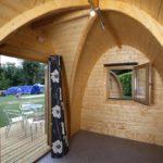 Camping Pods at Hendra
