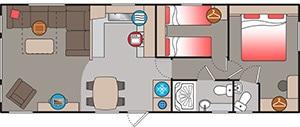 Gwithian 2 Floor Plan