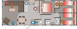 Gwithian 3 Floor Plan