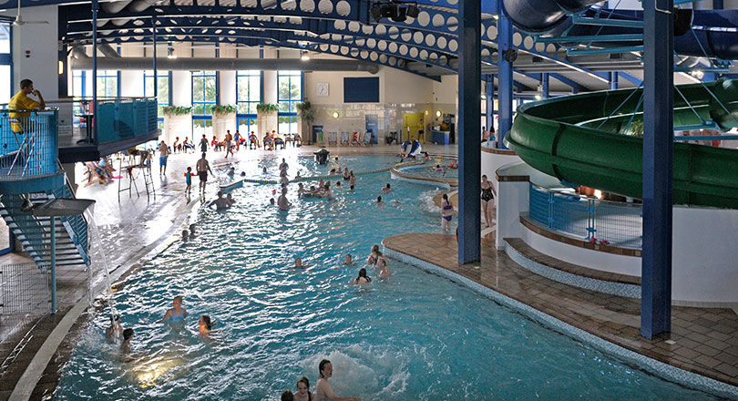 Swimming Pools With Slides In Cornwall Example