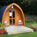 Cosy camping pods