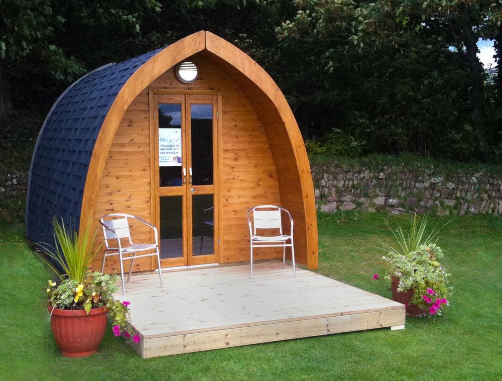 Camping Pods At Hendra Newquay Cornwall Glamping
