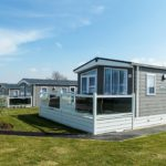 Meadow lodge-style caravans