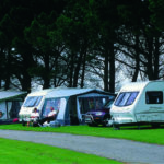 Camping pitches at Hendra Holiday Park, Newquay, Cornwall