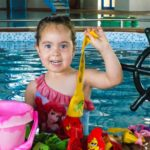 Toddler break swim park activities