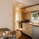 Kitchen Harlyn Holiday Home at Hendra