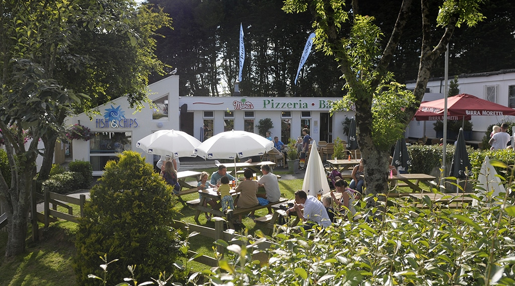Hendra Holiday Park in Cornwall