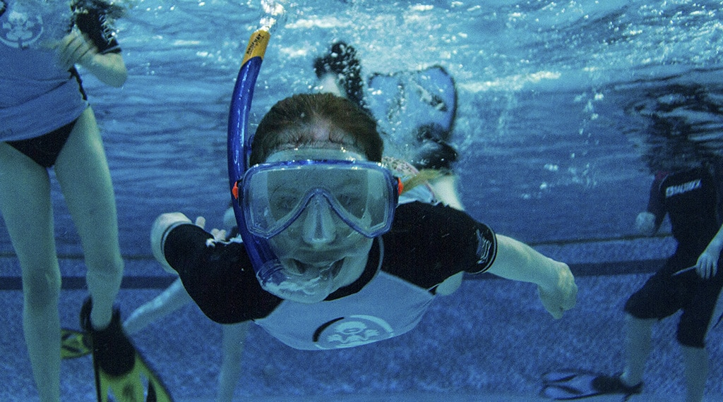 Activities at Oasis Pool - snorkelling holiday