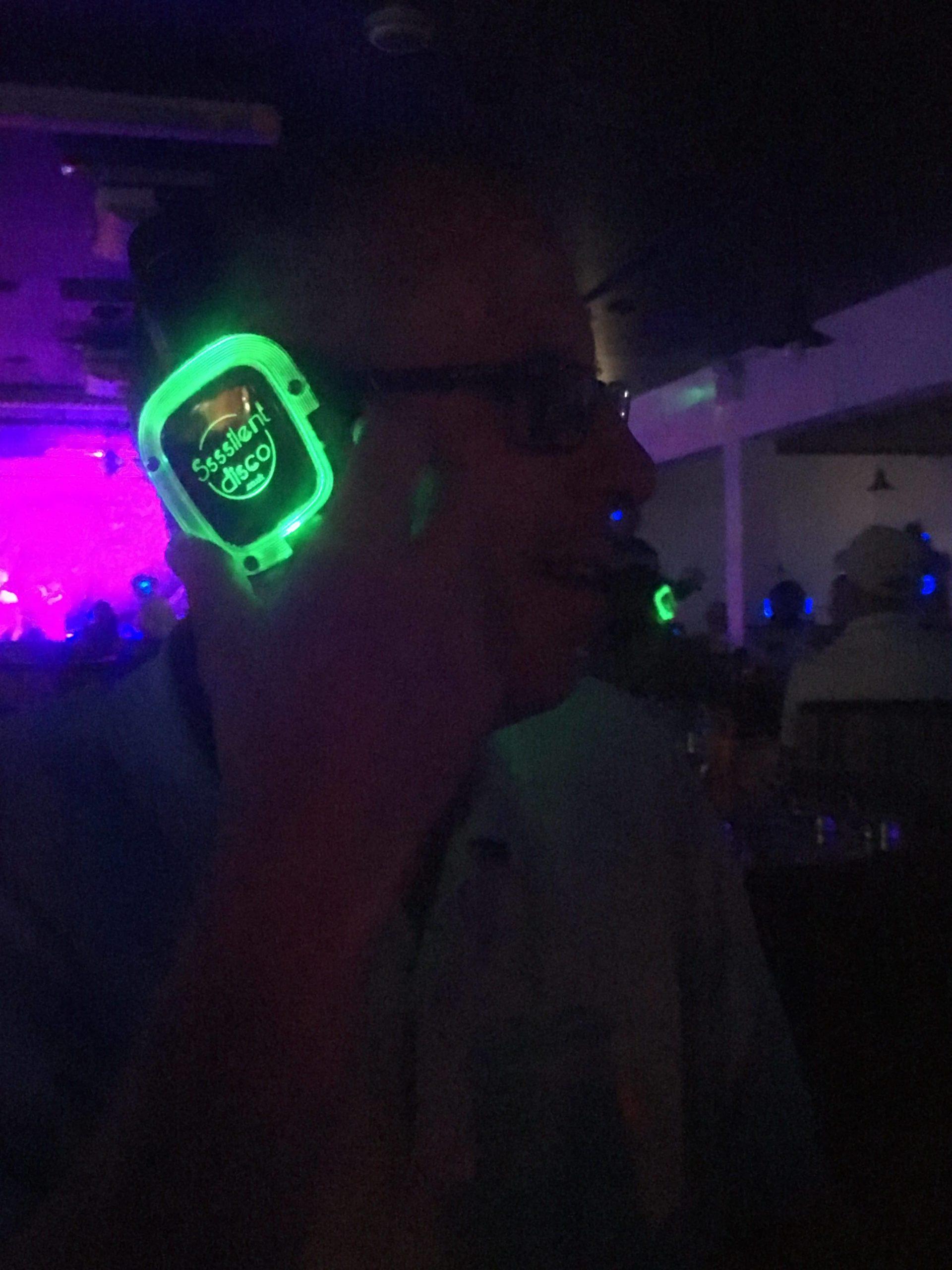 Amazing silent disco