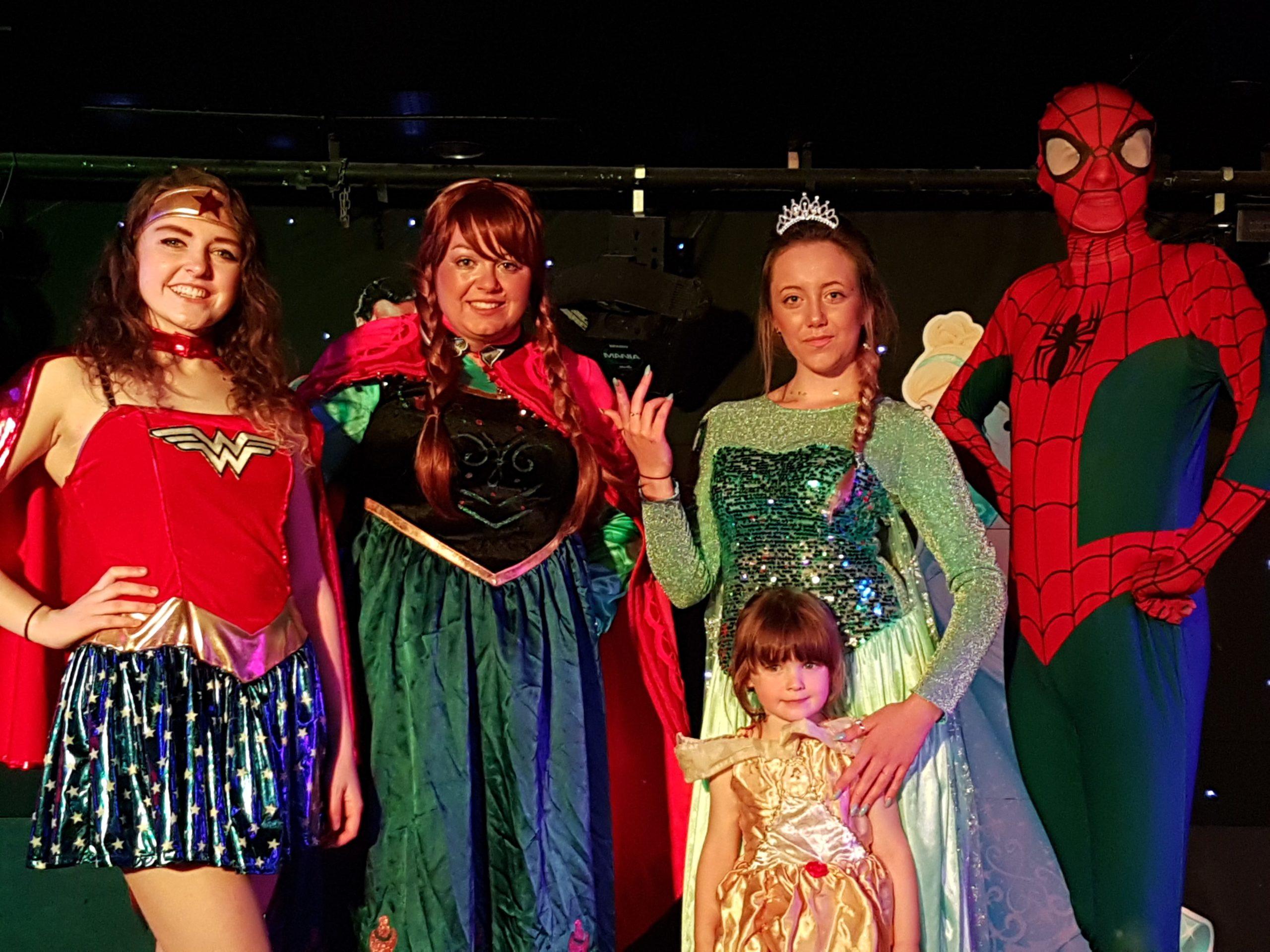 Princess and superhero night