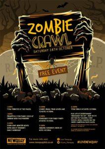 Zombie Crawl Newquay, BID Newquay