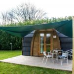 The new Premium Pod at Hendra Holiday Park, Newquay