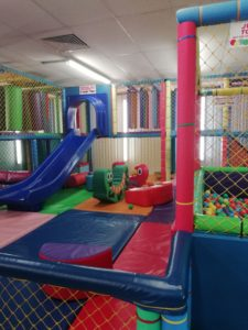 The Toddler area, Jungle Barn