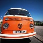 Blossom VW Camper - Happy Days Camper van, Cornwall