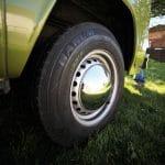 Olive the camper, wheel