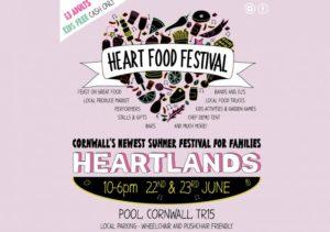 Heart Food Festival, Pool, Cornwall