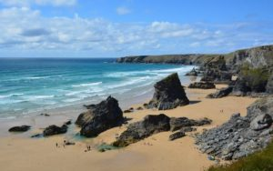 Bedruthan Steps - a great place for the theatre