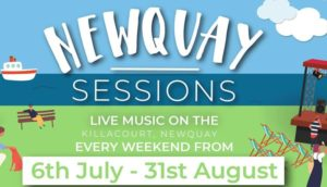 Newquay Sessions on the Killacourt