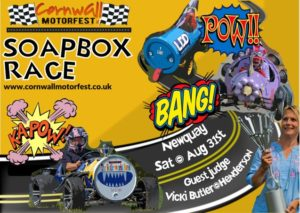 Soapbox race, Crantock, Cornwall
