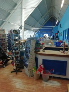 The Gift Shop and Cafe at the Blue Reef Aquarium, Newquay