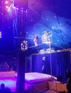 Tightrope at Paulos Circus