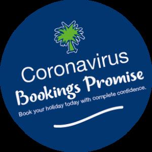 Coronavirus Bookings Promise