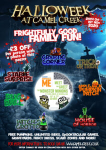 Camel Creek, in Cornwall, is sure to be Spooktacular!