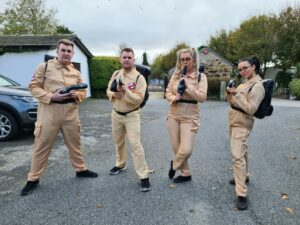 Ghostbusters at Hendra Holiday Park