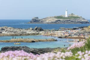 Godrevy looking over to the lighthouse